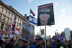 تظاهرات لندنی ها علیه طرح برگزیت
