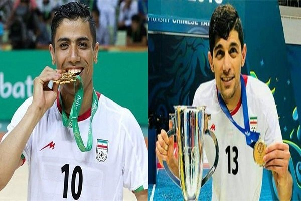 Two Iranians shortlisted for world best futsal player