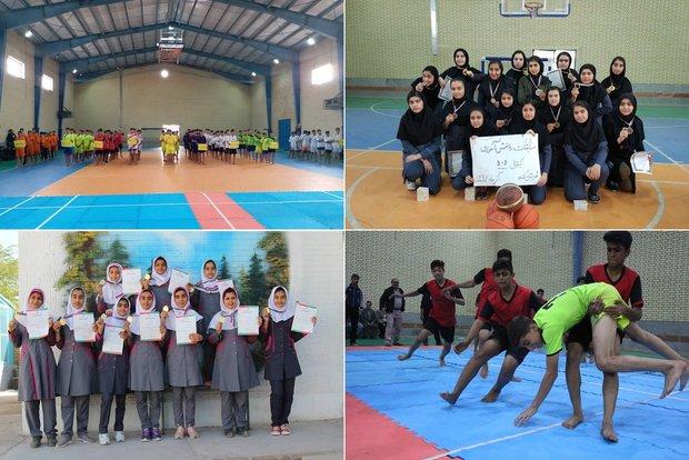 جشنواره مسابقات ورزشی مدارس شهرستان گناوه برگزار شد