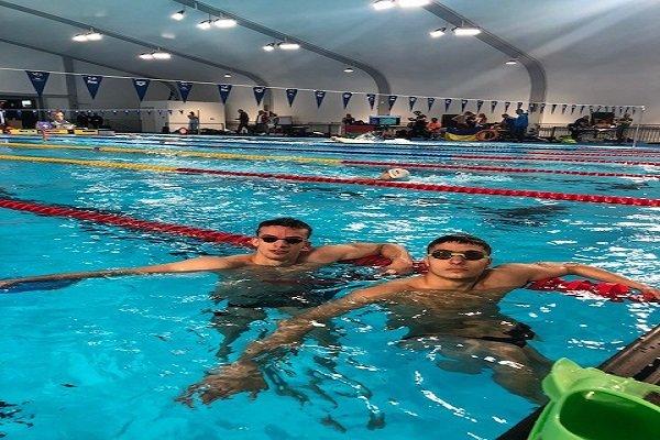 رقابت امراللهی با شناگران ۴۰۰ متر آزاد جهان در روز نخست