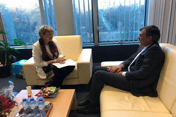 اليمن وسوريا محور لقاء جابري أنصاري بهيلغا شميدت