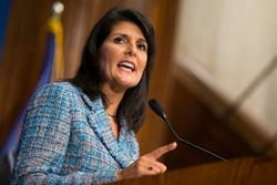 Haley reacts to Iran-China partnership