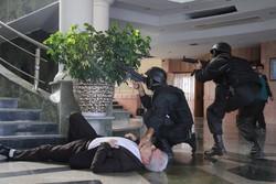 """مناورات """"مواجهة الهجمات الارهابية المحتملة"""" بمدينة """"كلستان"""" / صور"""
