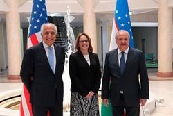 زلمے خلیل زاد کی ازبکستان کے وزیر خارجہ سے ملاقات