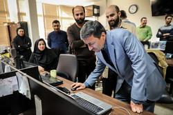حضرت امام خمینی (رہ)  فاؤنڈیشن کے سربراہ کا مہر نیوز کا دورہ