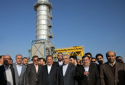 First VP Jahangiri inaugurated water desalinization, power plants in Hormozgan province