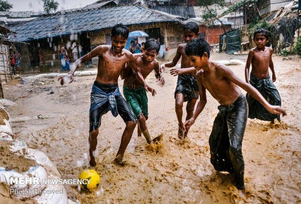 بازماندگان فاجعه روهینگیا