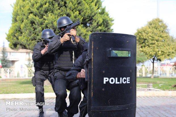مانور مقابله با حملات احتمالی تروریستی