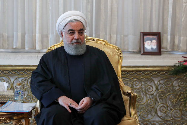 Rouhani hails Turkey's firm stance against anti-Iran US sanctions