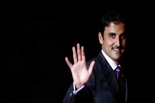 أمير قطر يغادر بيروت بعد مشاركته في افتتاحية القمة العربية التنموية