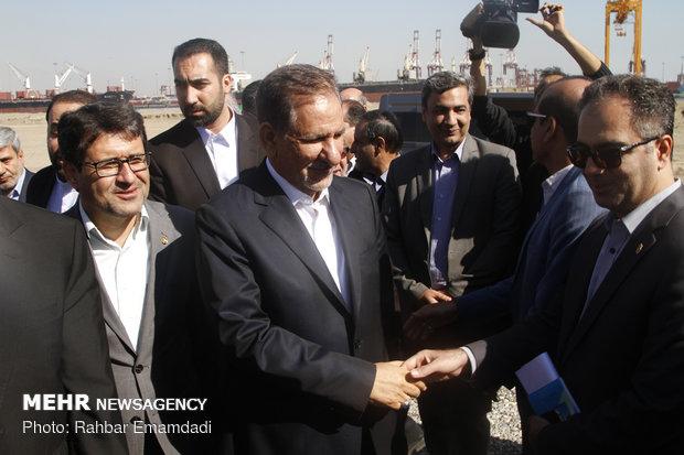 VP Jahangiri's visit to Hormozgan province