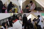 مانور تیم بهداشت و درمان اضطراری هلال احمر استان بوشهر برگزار شد