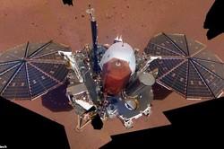 نخستین سلفی «اینسایت» از مریخ به زمین رسید