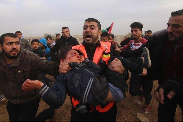 اسرائیلی فوج کی فائرنگ سے4 سالہ فلسطینی بچہ شہید