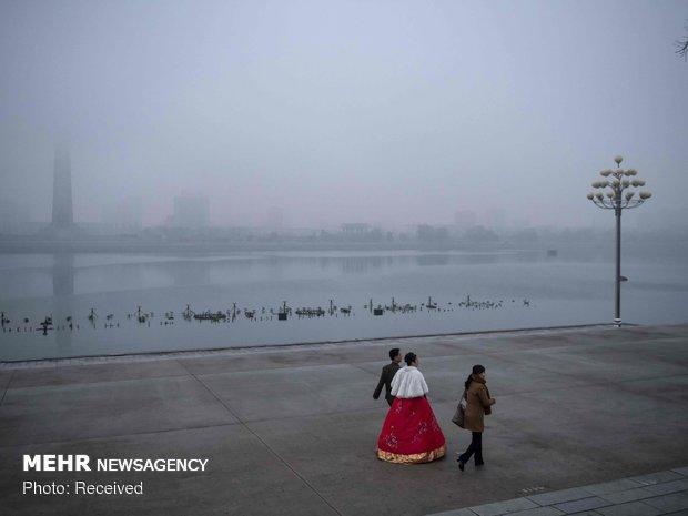روزهای زمستانی پیونگ یانگ