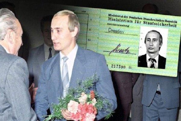 کارت شناسایی پوتین متعلق به سازمان جاسوسی آلمان شرقی پیدا شد