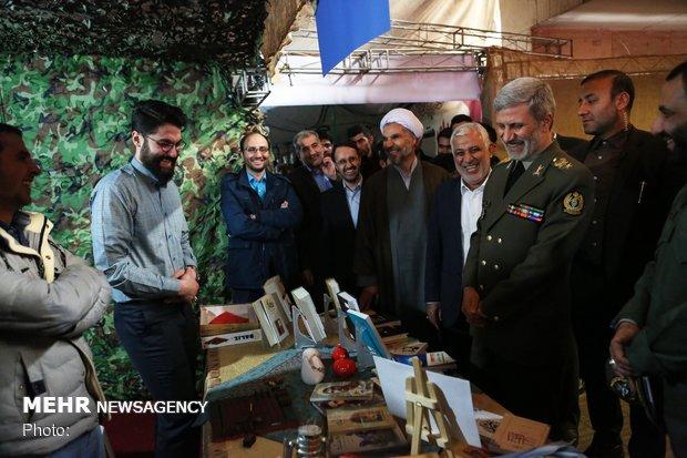Defense minister's visit to Malek Ashtar University of Technology