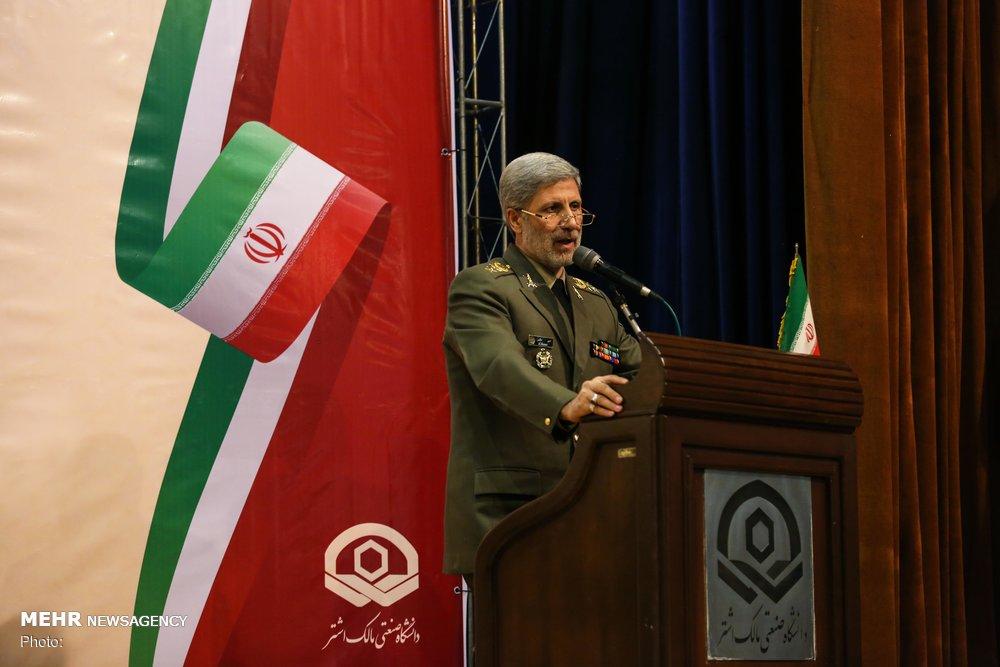 وزير الدفاع الايراني: لدينا أخبار سارة في المجال الدفاعي