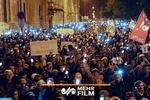 """تظاهرات مردم مجارستان علیه """"قانون بردگی"""""""