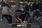پلیس فرانسه به معلولین هم رحم نمیکند