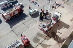 مانور آموزشی ایمنی و زلزله در دانشگاه شهید باهنر کرمان برگزار شد