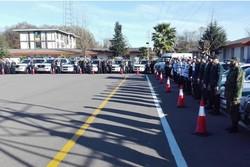 طرح زمستانه پلیس راه در استان گیلان آغاز شد