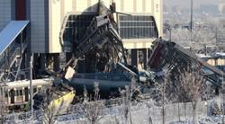 حادثه مرگبار خروج قطار از ریل در ترکیه