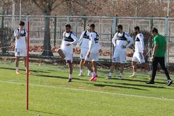 تصاویری از تمرین امروز تیم ملی فوتبال