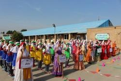 المپیاد ورزشی دانشآموزان جزیره خارگ برگزار شد