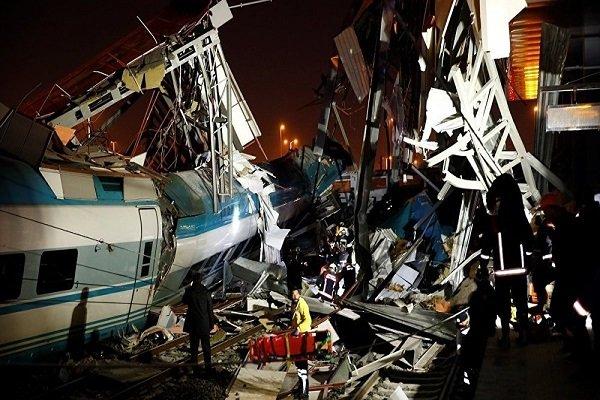 Ankara'da tren kazası meydana geldi