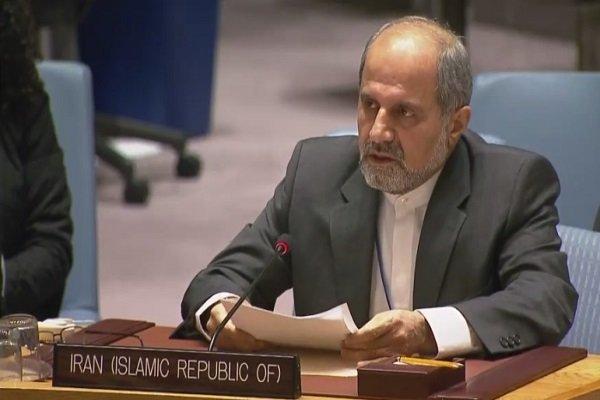 ایران کا عالمی سطح پر امریکہ کے غلط  اقدامات پر اس کی مذمت کا مطالبہ