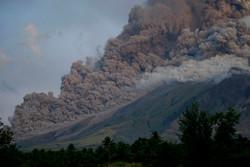 میکسیکو میں آتش فشاں سے پھر راکھ کا اخراج شروع