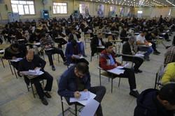 آزمون پایان دوره آموزشی برق کاران استان قم برگزار شد