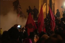 ناآرامی ها در مجارستان شدت گرفت