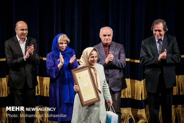 اختتامیه پنجمین جشنواره و جایزه همایون خرم