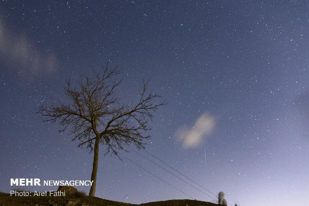 Geminids meteor shower in Iranian sky