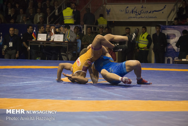 Mazandaran prov. hosts freestyle competitions of World Wrestling Clubs Cup