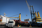 پهلوگیری کشتی های حامل کالاهای ترانزیتی در بندر چابهار ادامه دارد