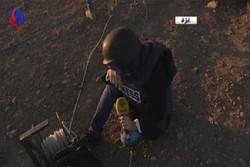 فلم/ اسرائیلی فوج کی فائرنگ  سے العالم کی صحافی زخمی