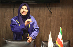 Iranian lady takes VP chair at APC