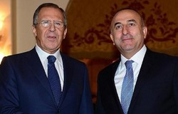 Lavrov, Cavusoglu discuss prospects of political settlement in Syria