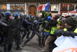 فرانس کے بڑے شہروں میں حکومت کے خلاف مظاہرے جاری، 37 افراد گرفتار