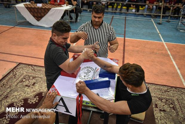 مسابقات مچ اندازی باشگاههای استان مرکزی در اراک پایان یافت