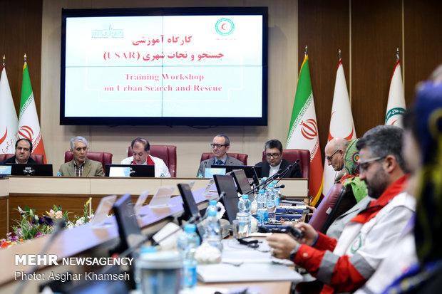 Intl. Urban Search and Rescue Course kicks off in Tehran