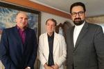 معاون هنری وزیر ارشاد با درویش رضا منظمی دیدار کرد