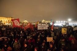 اشتباكات في بروكسل بين قوات الأمن والمحتجين على قانون الهجرة