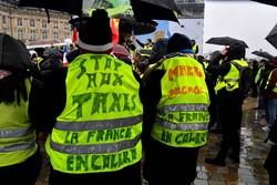 فلم / فرانسیسی پولیس کا مظاہرے میں شریک شہری پر تشدد