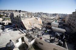 İsrail askerleri şehit ailesinin evini yıktı