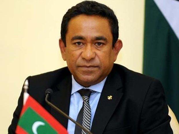 مالدیپ میں سابق صدر کے بینک اکاؤنٹ منجمد