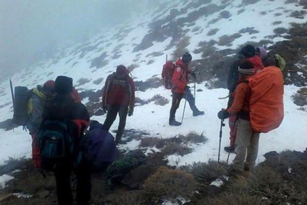 کوهنوردان گمشده گلستان در کوه شاهوار شاهرود پیدا شدند
